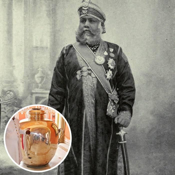 Мадхо Сингх II, бывший правитель Джайпура