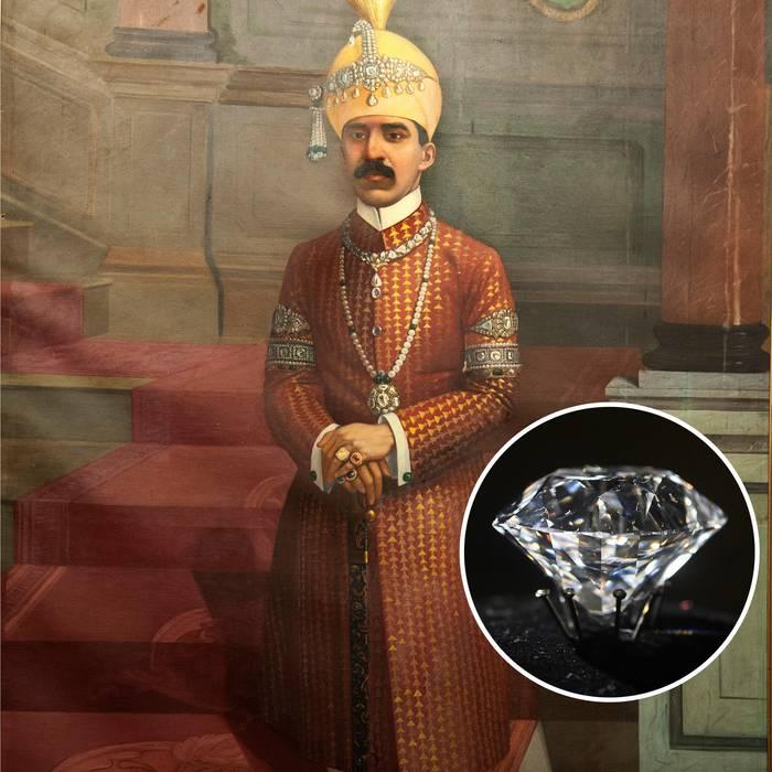 Осман Али Хан, последний низам княжества Хайдарабад и его алмазное пресс-папье