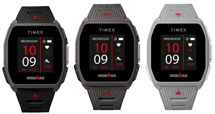 Ironman R300 GPS поставляется в трех цветовых вариантах: угольный, черный и серый