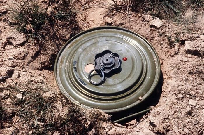Наземные мины. Придуманы в Китае