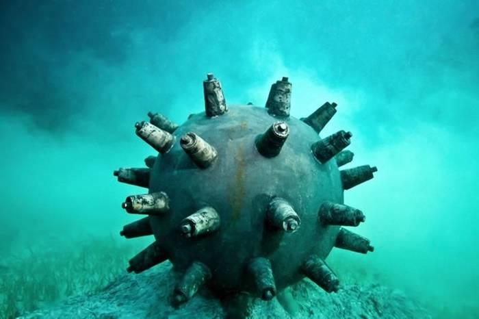 Морские мины. Придуманы тоже в Китае