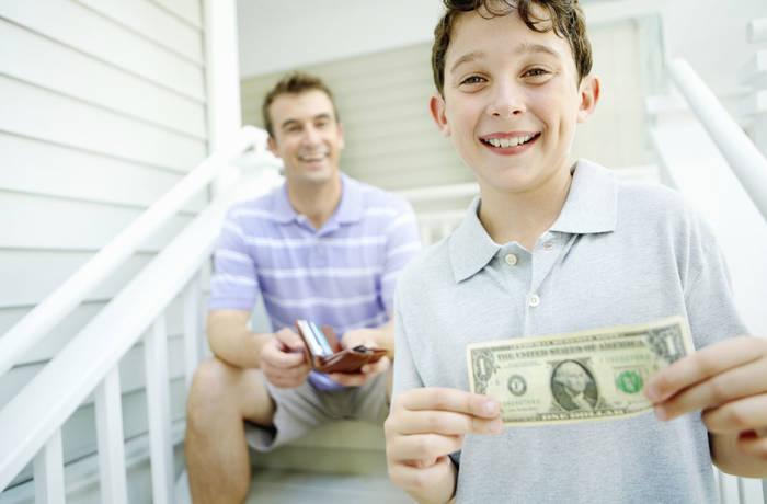 Позволь ребенку экспериментировать в управлении деньгами в молодом возрасте