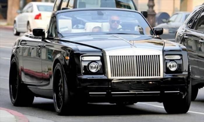 Rolls-Royce Phantom Drophead 2008 с открытым верхом