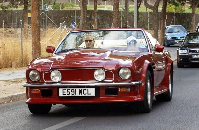 Aston Martin V8 Vantage X-Pack Volante 1987