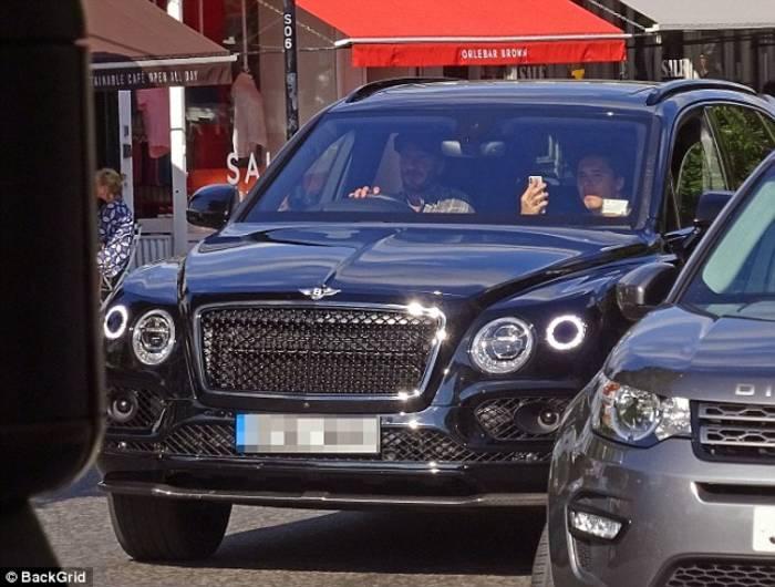 Фаворит среди Bentley – вместительный внедорожник Bentayga