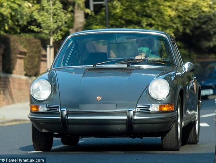 Классический Porsche Бекхэма был точной копией модели 911S 1969-го, принадлежавшей Стиву Маккуину