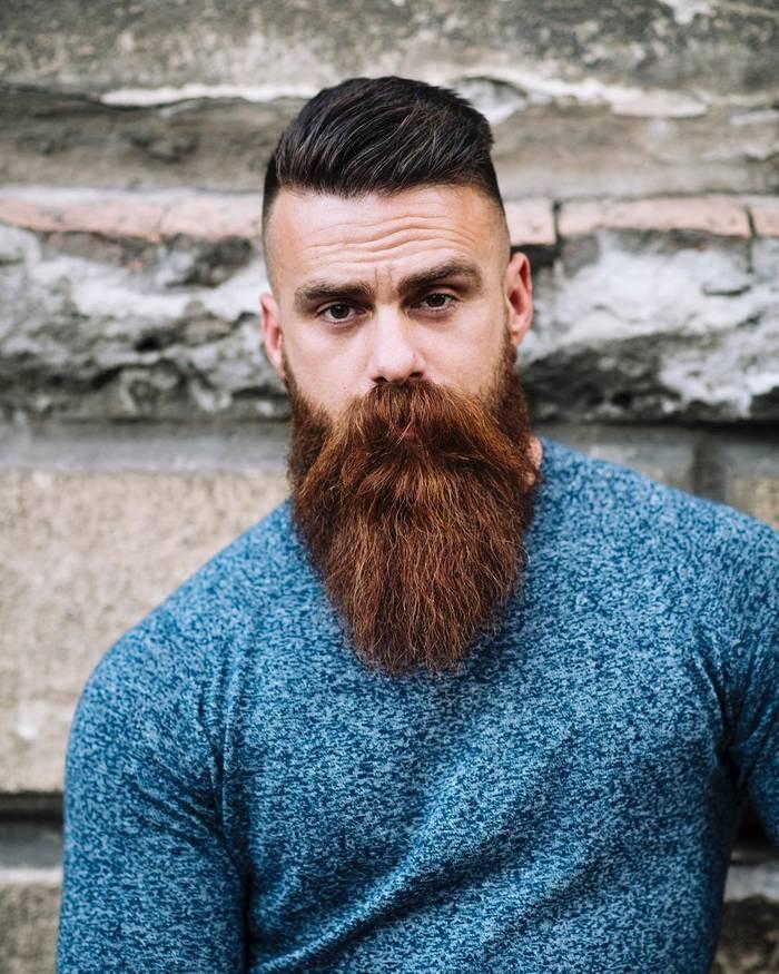 Стильная борода = +100500 к суровости образа
