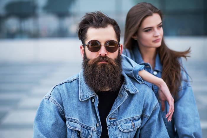 К стильной бороде женщина прилагается (но это неточно)
