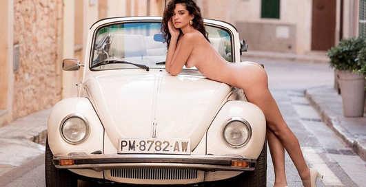 Красотка дня: модель Playboy Хильда Диас Пиментель