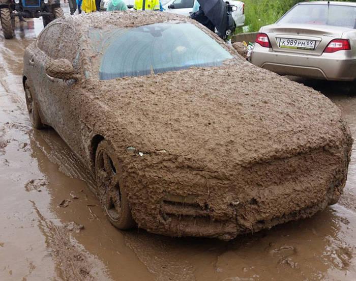После дождя по нашим дорогам