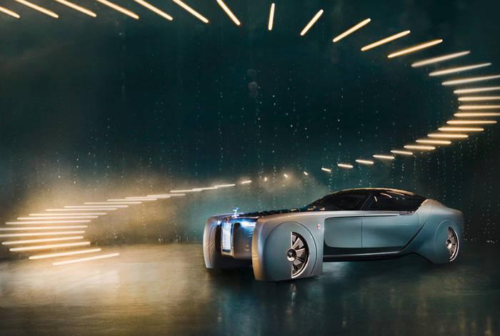 Vision Next 100 от Rolls-Royce тоже не избежал электрификации