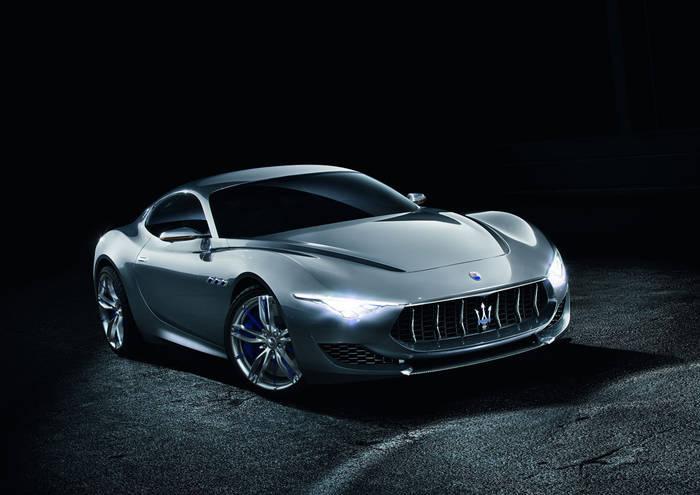 Концепт-кар Maserati Alfieri с би-турбо V6 3 в серии станет электромобилем