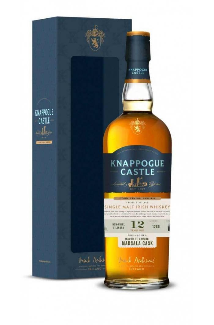 KNAPPOGUE CASTLE MARCO DE BARTOLI MARSALA CASK FINISH. Тираж — всего 1000 бутылок