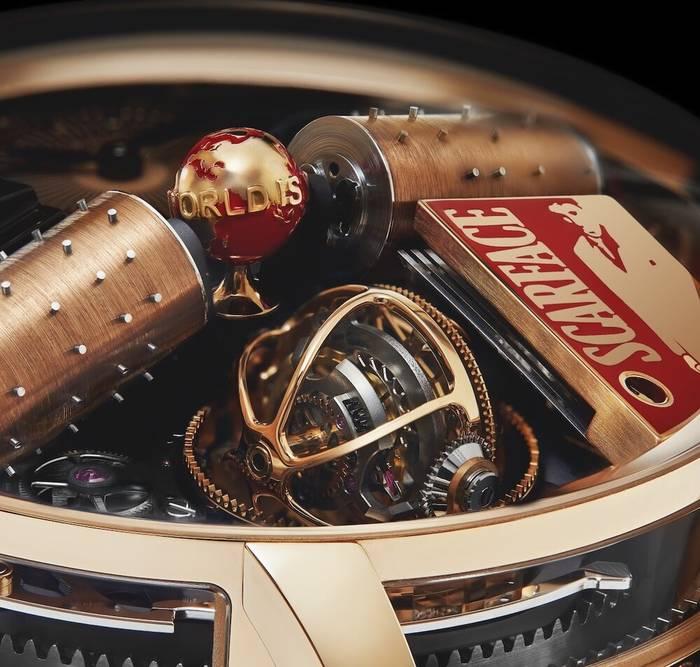 """Scarface от Jacob & Co — часы, созданные в честь фильма """"Лицо со шрамом"""""""