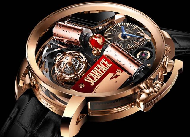 Лицо со шрамом: уникальные часы Scarface от Jacob & Co с музыкальной шкатулкой
