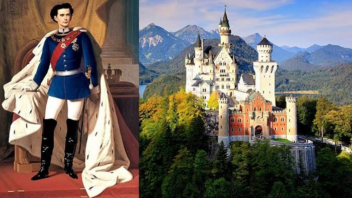 Безумный Людвиг II строил замки и стал банкротом