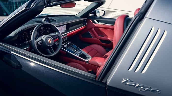 Салон Porsche 911 Targa. Прелесть