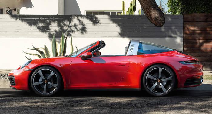 Porsche 911 Targa — новое поколение культового спорткара