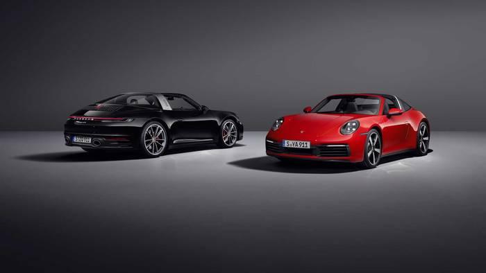 Porsche 911 Targa сделали в кузове кабриолет
