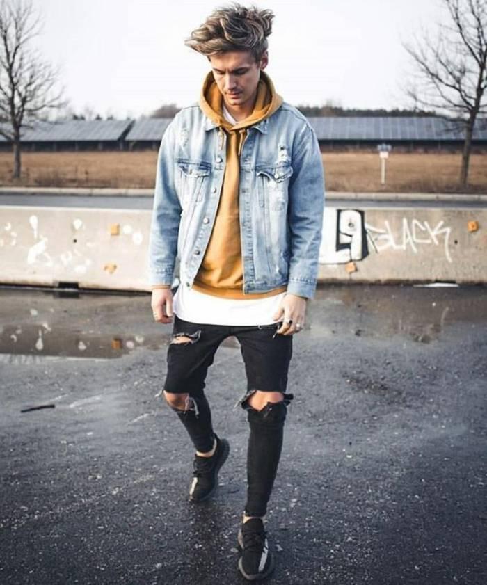 """""""Дырявыу"""" джинсы = стильно, модно, молодежно"""