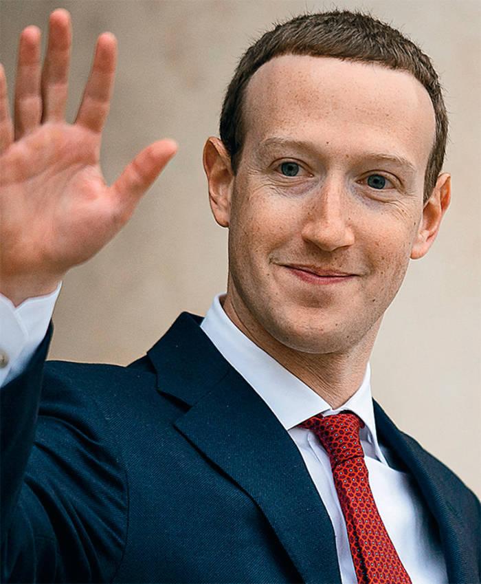 Цукерберг поднялся с 7-го на 4-е место в списке богатейших людей планеты