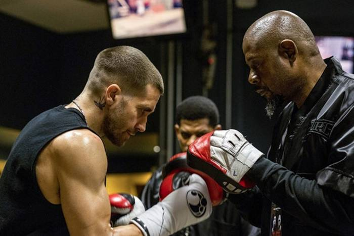 Джейк Джилленхол и его тренер — профессиональный боксер Терри Клэйбоун