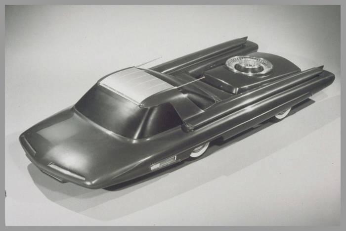 Ford Nucleon c футуристическим дизайном