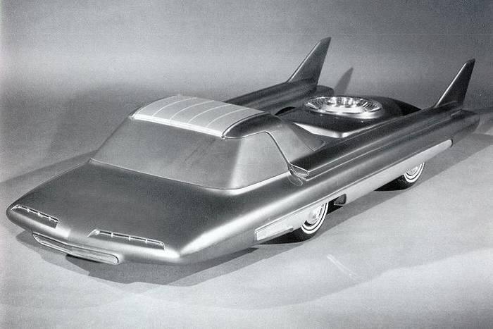 Вторая версия Ford Nucleon с дизайнерскими крыльями