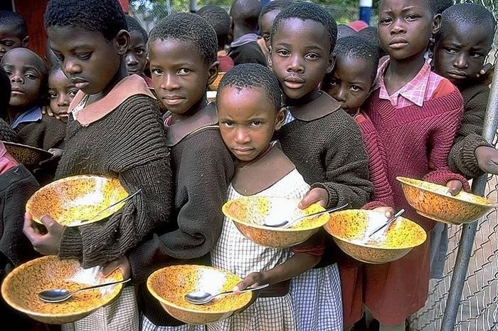 На дворе XXI век, а в Африке до сих пор голод