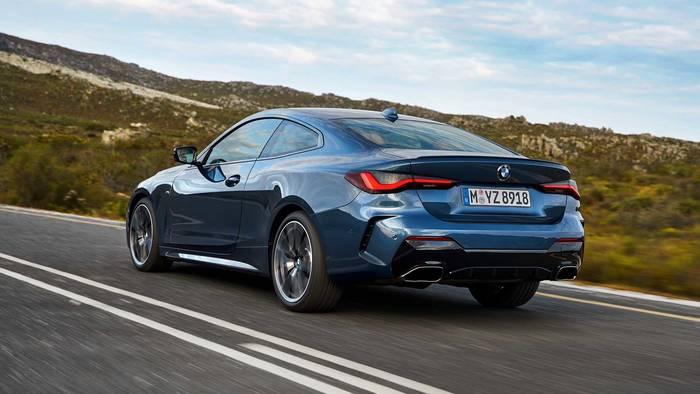Габариты новенького купе BMW 4-й серии немного увеличены