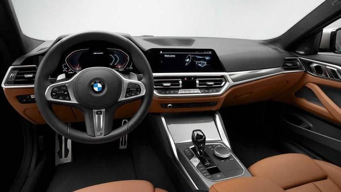 Водительский интерфейс BMW 4-й серии — Live Cockpit Professional