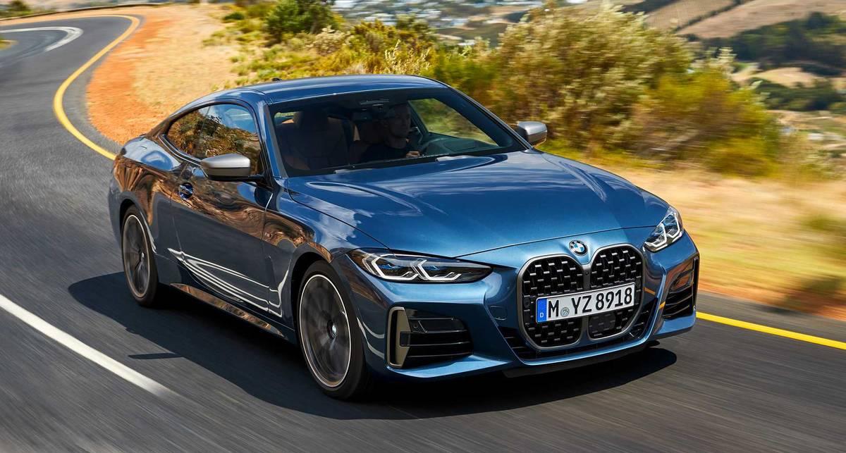 Онлайн-дебют: официально представлено купе BMW 4-й серии
