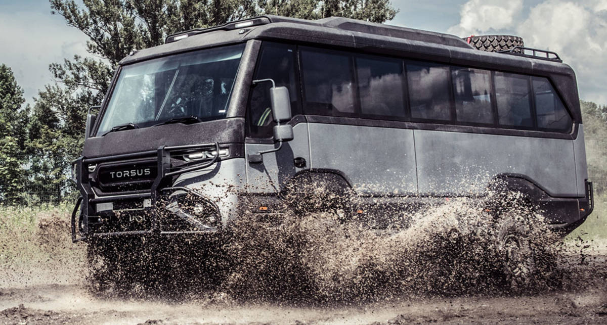 Пройдет везде: лютый украинский автобус-вездеход Torsus Praetorian