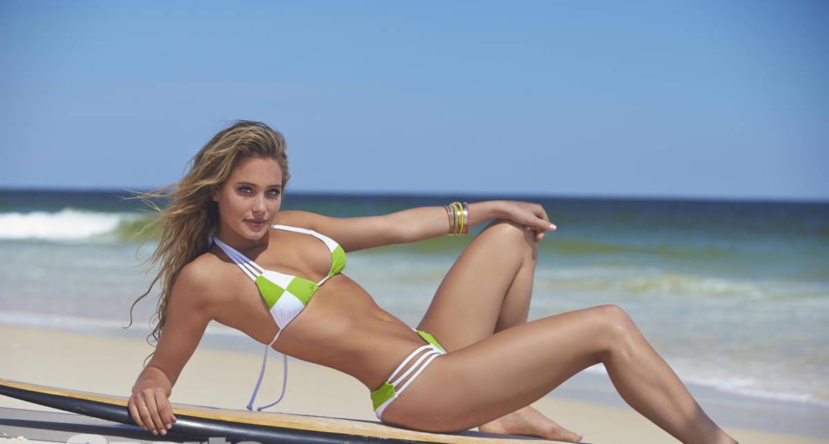Красотка дня: американская модель и телеведущая Ханна Джетер