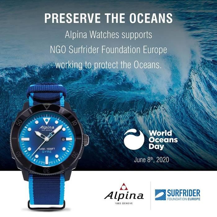 Alpina Seastrong Diver Gyre Automatic. Официальная презентация состоялась 8 июня 2020