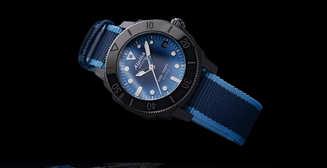 Часы для Нептуна: швейцарские Alpina Seastrong Diver Gyre Automatic из переработанных рыбацких сетей