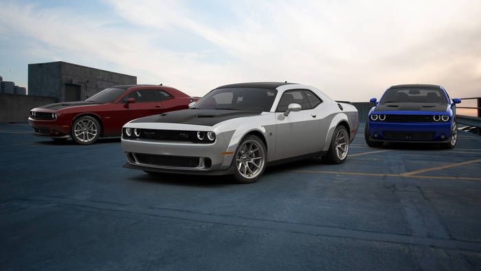 Dodge Challenger 50th Anniversary Limited Edition. Выпущен к 50-летию марки