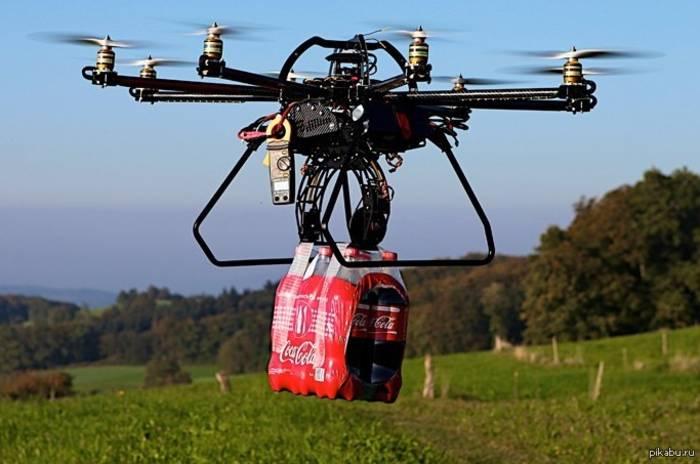 Для доставки дроны в США и Китае использовали еще до карантина