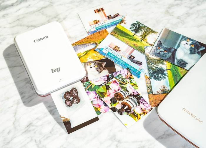 Портативный фотопринтер — для любителей фото на бумаге