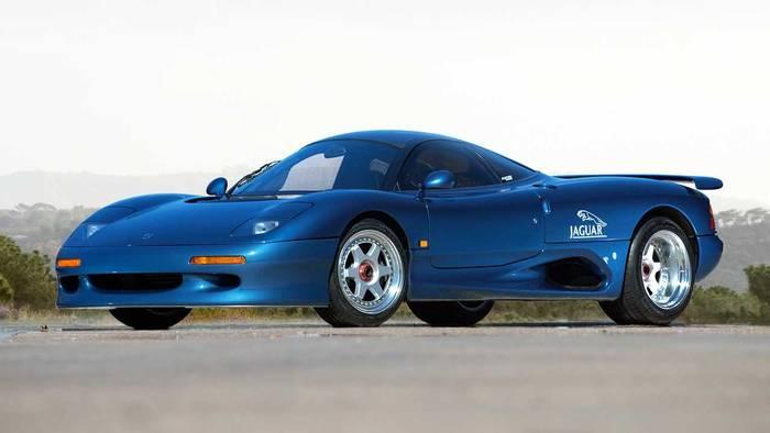 Jaguar XJR-15 (1990-1992) – 0,84 миллиона евро