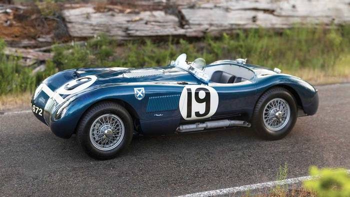Jaguar C-Type (1953) – 11,61 миллиона евро