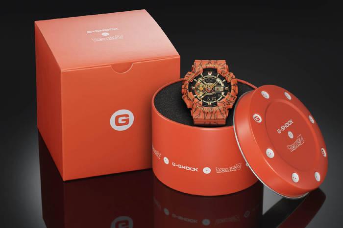 Casio G-Shock Dragon Ball Z поставляются в стильной luxury-упаковке