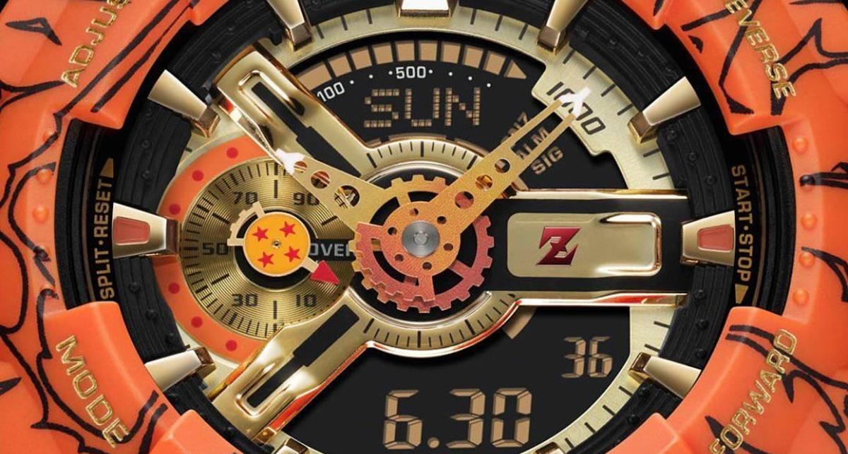 Casio G-Shock Dragon Ball Z: прочные аналого-цифровые часы легендарного бренда