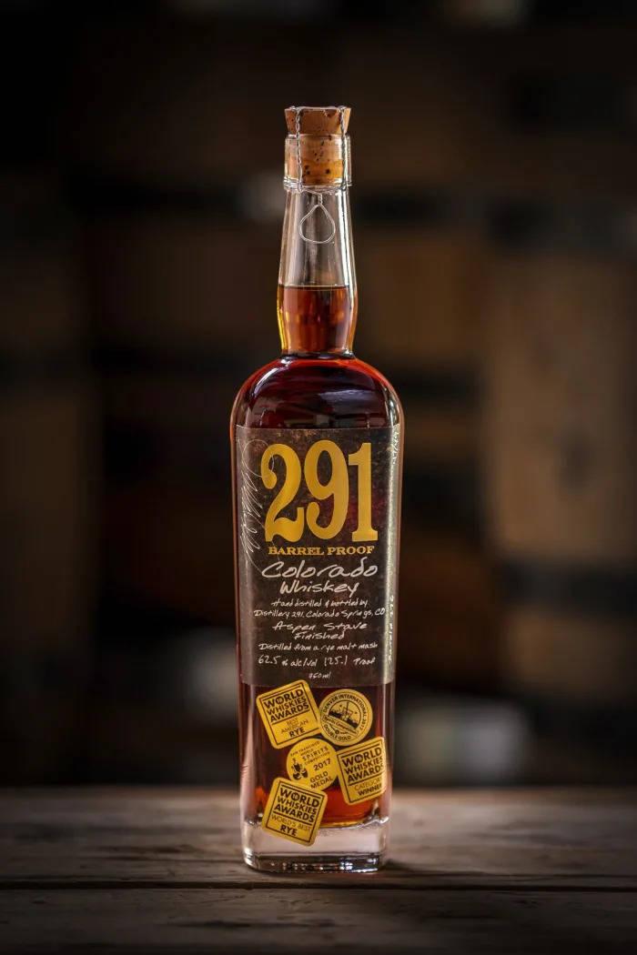 Distillery 291 Colorado Bourbon Barrel Proof — $107