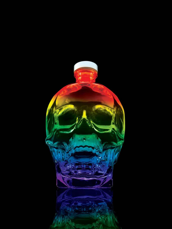 Crystal Head Vodka Pride Bottle — $50