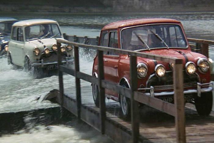 Mini Cooper — «Ограбление по‑итальянски», 1969