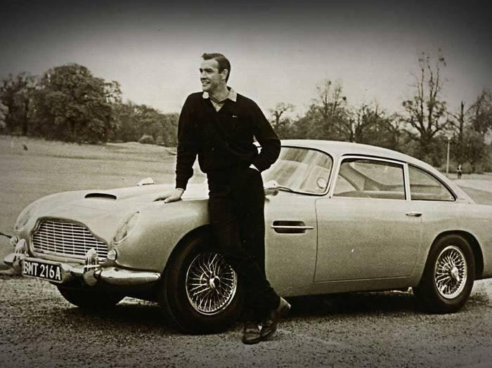 Aston Martin DB5 — «Голдфингер», 1964
