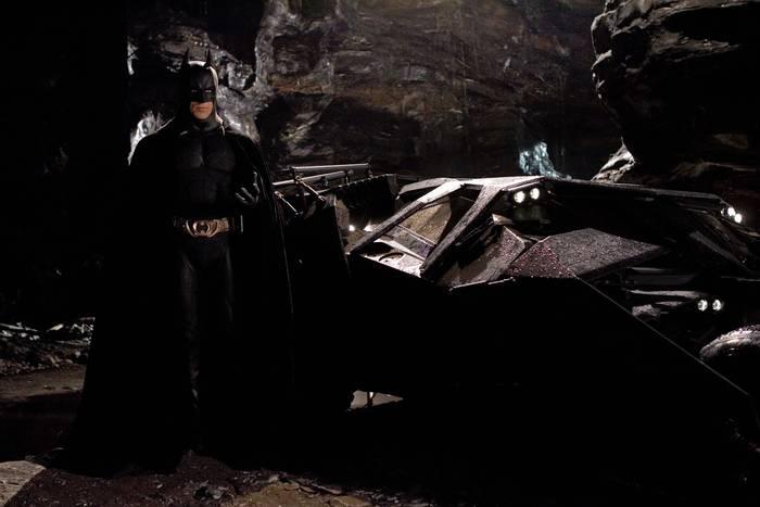 Batmobile Tumbler — «Бэтмен: Начало», 2005