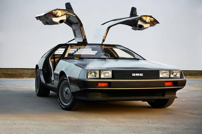 DeLorean DMC-12 — «Назад в будущее», 1985