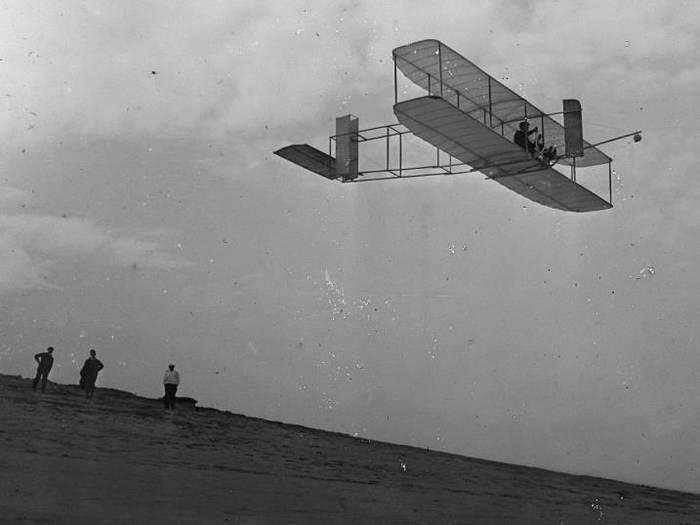 Вот так выглядел один из прадедушек современных самолетов